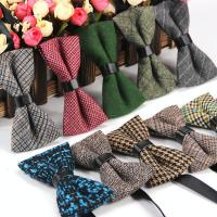 Krawatte, Baumwolle, Schleife, verschiedene Muster für Wahl & für den Menschen, 12x6cm, verkauft von PC