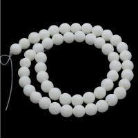 Schwamm Koralle Perle, rund, verschiedene Größen vorhanden, Bohrung:ca. 1mm, verkauft per ca. 15.3 ZollInch Strang