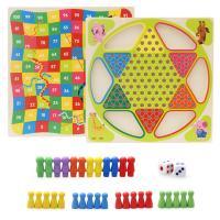 Lernen \u0026 Lernspielzeug, Holz, Einbrennlack, für Kinder, frei von Nickel, Blei & Kadmium, 300x300x30mm, verkauft von Box