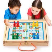 Lernen \u0026 Lernspielzeug, Holz, Einbrennlack, für Kinder, frei von Nickel, Blei & Kadmium, 310x260x45mm, verkauft von Box