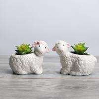 Blumentopf, Porzellan, Schaf, verschiedene Stile für Wahl, verkauft von PC