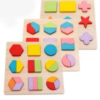 Lernen \u0026 Lernspielzeug, Holz, Einbrennlack, für Kinder & verschiedene Stile für Wahl, frei von Nickel, Blei & Kadmium, 150x150mm, verkauft von PC