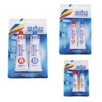 Super-Klebstoff, Gummi, mit Kunststoff, verschiedene Größen vorhanden, 2PCs/Box, verkauft von Box