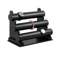 Leder Armbandständer, schwarz, 320x220x170mm, 50mm, 3PCs/Menge, verkauft von Menge