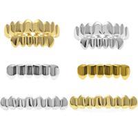 Messing Zahn, plattiert, verschiedene Stile für Wahl, frei von Nickel, Blei & Kadmium, 40x11mm, 50mmx14mm, verkauft von setzen