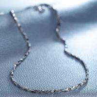 Messingkette Halskette, Messing, Dicke 925 Sterling-Silber vergoldet, unterschiedliche Länge der Wahl, frei von Nickel, Blei & Kadmium, 1.2mm, verkauft von Strang