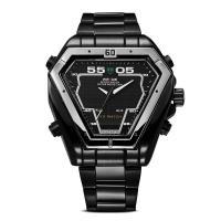 Weide® Uhrenkollektion, Edelstahl, mit Zinklegierung Zifferblatt & Glas, plattiert, 30 m wasserdicht & für den Menschen, keine, 49.5x49.5x15.6mm, 26mm, Länge:ca. 8 ZollInch, verkauft von PC