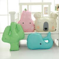 PP Baumwolle Kissen, mit PU Leder, für Kinder & verschiedene Stile für Wahl, verkauft von PC