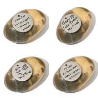 Edelstahl Brief Anhänger, platiniert, verschiedene Muster für Wahl & mit Brief Muster & Emaille, 25x2mm, Bohrung:ca. 2mm, 5PCs/Menge, verkauft von Menge
