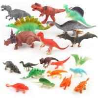 ABS Kunststoff Simulation Tier Spielzeug, mit Kunststoff, Dinosaurier, verschiedene Stile für Wahl, verkauft von setzen