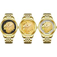 TEVISE® Uhrenkollektion, Edelstahl, mit Glas, plattiert, 30 m wasserdicht & stem-Winder & für den Menschen & mit Strass, keine, 40x40x13mm, 20mm, Länge:ca. 7 ZollInch, verkauft von PC