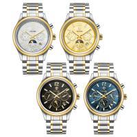 TEVISE® Uhrenkollektion, Edelstahl, mit Glas, plattiert, 30 m wasserdicht & stem-Winder & für den Menschen, keine, 40x40x13mm, 16mm, Länge:ca. 7.8 ZollInch, verkauft von PC