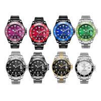 TEVISE® Uhrenkollektion, Edelstahl, mit Glas, plattiert, 30 m wasserdicht & stem-Winder & für den Menschen, keine, 43x43x14mm, Länge:ca. 9.4 ZollInch, verkauft von PC