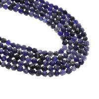 Sodalith Perlen, Sosalith, verschiedene Größen vorhanden & facettierte, Bohrung:ca. 1mm, verkauft per 15 ZollInch Strang