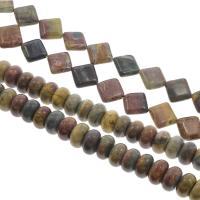 Dotter Stein Perlen, verschiedene Stile für Wahl, Bohrung:ca. 1mm, verkauft per ca. 15.7 ZollInch Strang