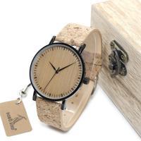 BOBOBIRD® Unisex Uhr, Harz, mit Glas & Holz & Edelstahl, plattiert, einstellbar, 40mm, 20mm, Länge:ca. 7-8.5 ZollInch, verkauft von PC