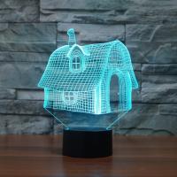 Acryl Nachtlicht, mit ABS Kunststoff, automatisch die Farbe wechseln & verschiedene Stile für Wahl & 3D, verkauft von PC