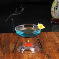 Kerzenhalter, Eisen, mit Glas, verschiedene Stile für Wahl, 130x170mm, verkauft von PC