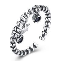 comeon® Finger-Ring, Thailand, einstellbar & für Frau & mit kubischem Zirkonia, 2mm, Größe:8, verkauft von PC