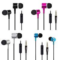 TPE beschalteter Ohrhörer, mit PC Kunststoff & Silikon, Für 3.5mm Computerschnittstellengerät & Für Mobiltelefon, keine, 3.5mm, verkauft per ca. 47 ZollInch Strang
