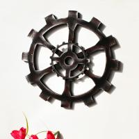 Hängende Ornamente, Holz, ZahnradRad, 300x10mm, 2PCs/Menge, verkauft von Menge