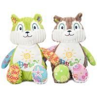 Teddybär, PP Baumwolle, mit KordKordhose, Eichhörnchen, keine, 250x250mm, verkauft von PC