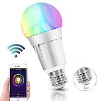 LED-Sparlampen, Aluminiumlegierung, mit PC Kunststoff, Silberfarbe, 62x118mm, verkauft von PC