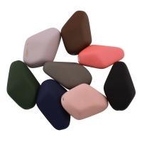 Acryl Perle, gummierte, gemischte Farben, 40x28x15mm, Bohrung:ca. 1.5mm, ca. 53PCs/Tasche, verkauft von Tasche