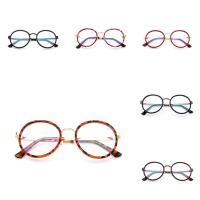 Metallisches Legieren Brillenrahmen, mit PC Kunststoff, unisex & verschiedene Muster für Wahl, 146x135x52mm, verkauft von PC