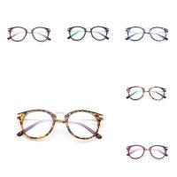 PC Kunststoff Brillenrahmen, mit Metallisches Legieren, unisex & verschiedene Muster für Wahl, 140x140x48mm, verkauft von PC