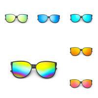 Art- und WeiseSonnenbrillen , PC Kunststoff, mit Acryl, für Frau, keine, 145x142x55mm, verkauft von PC