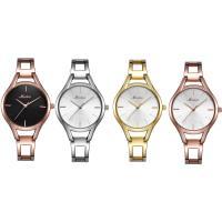 MEIBIN® Damen Schmuck Uhren, Zinklegierung, mit Glas, plattiert, für Frau & wasserdicht, keine, 30mm, 12mm, Länge:ca. 7.3 ZollInch, verkauft von PC