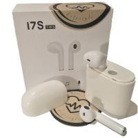 Kunststoff Bluetooth-Kopfhörer, für iPhone SAMSUNG & LED, weiß, 20x45mm, verkauft von setzen
