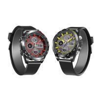JeiSo® Unisex Uhr, PU Leder, mit Glas & Edelstahl & Zinklegierung, plattiert, LED & glänzend, keine, 44.5x16.5mm, Länge:ca. 8.5 ZollInch, verkauft von PC