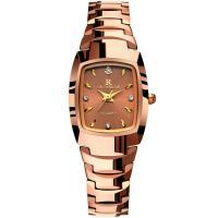 ONTHEEDGE®-Frauen-Schmuck-Uhren, Titanstahl, mit Glas, plattiert, 30 m wasserdicht & verschiedene Stile für Wahl & für Frau & mit Strass, Länge:ca. 7.8 ZollInch, verkauft von PC
