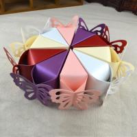 Papier Hochzeit-Candy-Box, keine, 100x40x50mm, 50PCs/Menge, verkauft von Menge