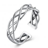 comeon® Finger-Ring, Thailand, unisex & einstellbar & hohl, 4mm, Größe:8, verkauft von PC