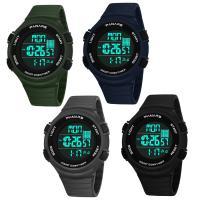 PANARS® Uhrenkollektion, Silikon, mit Kunststoff & Edelstahl, plattiert, einstellbar & LED & für den Menschen & wasserdicht & glänzend, keine, 50.5x28x14mm, Länge:ca. 10.4 ZollInch, verkauft von PC