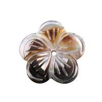 Natürliche Süßwasser Muschel Perlen, Blume, verschiedenen Materialien für die Wahl, 3x20mm, Bohrung:ca. 1mm, verkauft von PC