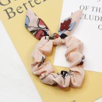 Draht Bun -Bogen, Gummiband, handgemacht, elastisch & für Frau, gemischte Farben, 50-60mmm, 10PCs/Tasche, verkauft von Tasche