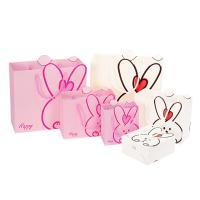 Mode Geschenkbeutel, Papier, mit Nylonschnur, verschiedene Größen vorhanden, keine, 20PCs/Menge, verkauft von Menge