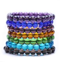 Glas Armband, unisex & verschiedene Größen vorhanden, keine, 8mm, verkauft per ca. 7.2 ZollInch Strang