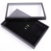 Karton Ringkasten, Papier, Rechteck, schwarz, 290x190x40mm, verkauft von PC