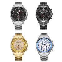 RISTOS® Uhrenkollektion, Edelstahl, mit Glas, plattiert, für den Menschen, keine, 46x12mm, Länge:ca. 10 ZollInch, verkauft von PC