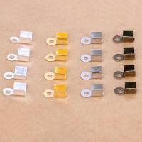 Eisen Endkappe, plattiert, verschiedene Größen vorhanden, keine, frei von Blei & Kadmium, 1000PCs/Tasche, verkauft von Tasche