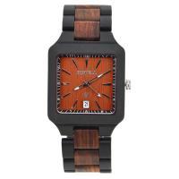 BEWELL® Uhrenkollektion, Holz, mit Glas & Edelstahl, verschiedenen Materialien für die Wahl & für den Menschen, 53mm, Länge:ca. 8.5 ZollInch, verkauft von PC