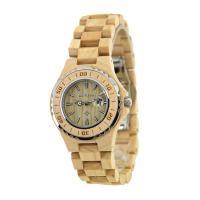 BEWELL® Uhrenkollektion, Holz, mit Glas & Edelstahl, für Frau, keine, 46mm, Länge:ca. 8.5 ZollInch, verkauft von PC
