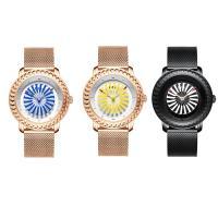 BIDEN® Uhrenkollektion, Edelstahl, mit Glas & Zinklegierung, plattiert, für Frau, keine, 40x13mm, Länge:ca. 9 ZollInch, verkauft von PC