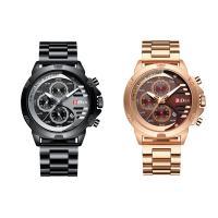 BIDEN® Uhrenkollektion, Edelstahl, mit Glas & Zinklegierung, plattiert, für den Menschen, keine, 39x10mm, Länge:ca. 10 ZollInch, verkauft von PC