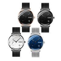 DOM® Uhrenkollektion, Edelstahl, mit Zinklegierung Zifferblatt & Glas, plattiert, für den Menschen & wasserdicht, keine, 40x11mm, 20mm, Länge:ca. 8.2 ZollInch, verkauft von PC